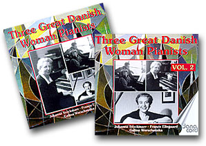 Collage - Three Great Danish Woman Pianists